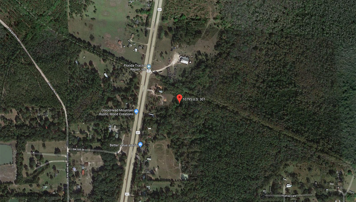 One of the few properties on US Hwy 301 zoned Industrial.